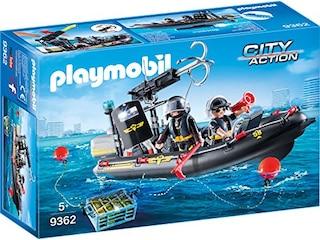 Playmobil SEK-Schlauchboot (9362) -
