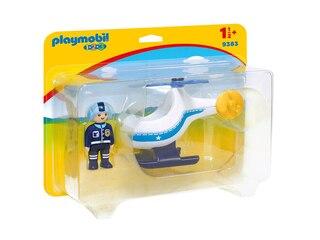 Playmobil Polizeihubschrauber (9383) -