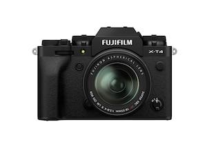X-T4 Systemkamera schwarz