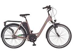 Prophete GENIESSER 20.EMC.10 Citybike (26 Zoll, 49 cm, Wave, 417.5 Wh, Grau)