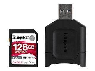 Kingston Canvas React Plus 128 GB SDXC (MLPR2/128GB) -