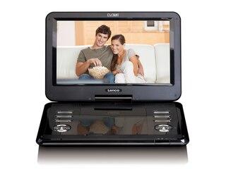 Lenco DVP-125 Tragbarer DVD Player Schwarz -