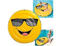 Intex Luftmatratze Cool guy Smile Emoticon Emoji (57254)