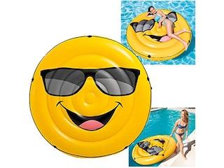 Intex Luftmatratze Cool guy Smile Emoticon Emoji (57254) -