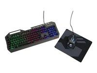 Speedlink TYALO Illuminated Gaming Deskset Schwarz
