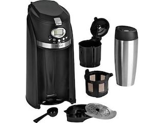 Beem Grind & Brew 2 Go Single-Kaffeemaschine schwarz -