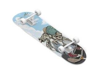 Muuwmi Abec 5 Skull Skateboard -