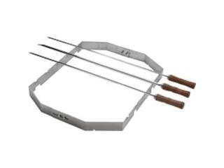 Moesta Churrasco'BBQ - Set für Smokin'Pizzaring: 57 cm (4-teilig) -