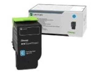 Lexmark 78C0U20 Cyan Ultra High Yield Toner 7000 Seiten -
