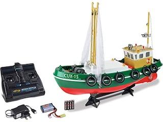 Carson RC-Fischkutter Cux-15 2.4G 100% RTR Ferngesteuertes Boot -