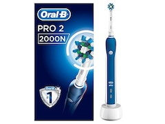 Braun Oral-B Pro 2 2000N weiß/dunkelblau