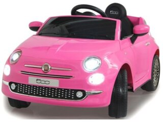 Jamara Ride-on Fiat 500 pink 12V -