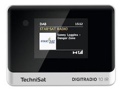 TechniSat DigitRadio 10 IR Internetradio Schwarz/Silber