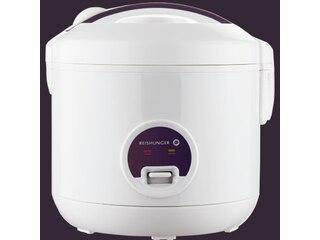 Reishunger Basis 1,2l weiß mit keramikbeschichtetem Topf -