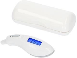Alecto BC-27 Infrarot-Ohrthermometer (Messart: im Ohr) weiß/grau -