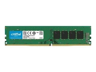 Crucial 8GB (1x8GB) DDR4-3200 CL22 UDIMM Single Rank RAM Speicher (CT8G4DFRA32A) -
