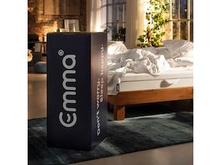Emma One Kaltschaummatratze, 1x 160x200 cm, belastbar bis 130 kg, weiß -