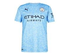 Puma Manchester City 2020/2021 Herren Fußball-Trikot Heim Größe: XXL