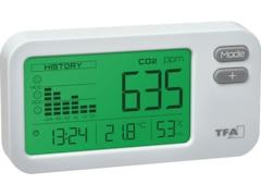 TFA AIRCO2NTROL COACH CO2-Monitor Weiß (31.5009.02)