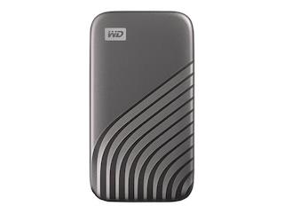 Western Digital My Passport SSD 1 TB USB 3.1 grau (WDBAGF0010BGY-WESN) -