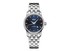 Mido BARONCELLI II silver/blue M7600.4.15.1 Damenuhr