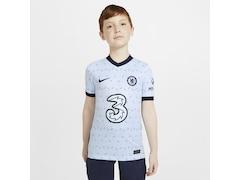 Nike Chelsea FC 2020/2021 Kinder Fußball-Trikot Auswärts Größe: 128