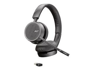 Plantronics Voyager 4220 UC schwarz, Bluetooth, USB-A -