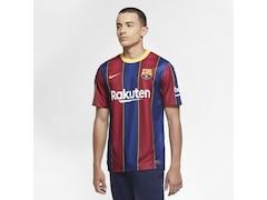 Nike FC Barcelona 2020/2021 Herren Fußball-Trikot Heim Größe: XS