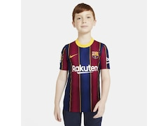 Nike FC Barcelona 2020/2021 Kinder Fußball-Trikot Heim Größe: 122