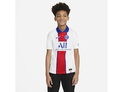 Nike Paris Saint-Germain 2020/2021 Kinder Fußball-Trikot Auswärts Größe: 140