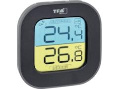 TFA Dostmann FUN Funk-Thermometer Schwarz