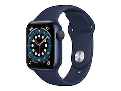 Apple Watch Series 6 GPS 40mm Aluminiumgehäuse Blau Sportarmband Dunkelmarine MG143FD/A