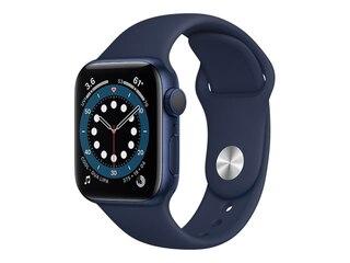 Apple Watch Series 6 GPS 40mm Aluminiumgehäuse Blau Sportarmband Dunkelmarine MG143FD/A -
