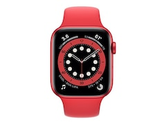 Apple Watch Series 6 LTE 44mm Aluminiumgehäuse Sportarmband Rot M09C3FD/A