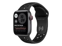 Apple Watch SE Nike LTE 40mm Aluminium Space Grau Sportarmband Anthrazit Schwarz MG013FD/A
