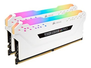 Corsair Vengeance RGB 16GB DDR4 Kit PC3600 CL18 (2x8GB) (CMW16GX4M2D3600C18W) -
