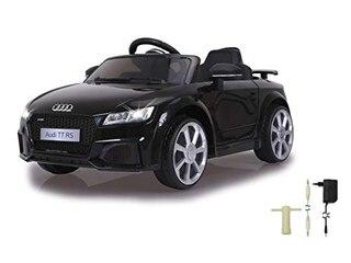 Jamara Ride-On Audi TT RS 12 V Kinderfahrzeug Schwarz -