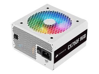 Corsair CX750F RGB 750W ATX 80+ Bronze Netzteil (modular) 120mm Lüfter weiß -