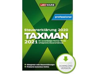 Lexware TAXMAN professional 2021 (für Steuerjahr 2020) - 3-Platz-Lizenz -