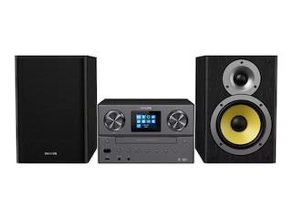 Philips M 8905 Mini Stereoanlage Schwarz -