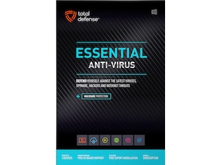 Total Defense Essential Antivirus 2020 3 Geräte / 1 Jahr -