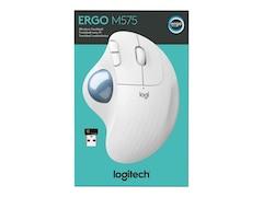 Logitech ERGO M575 Trackball Maus optisch weiß(910-005870)