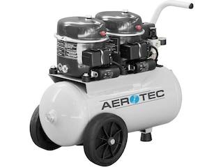 Aerotec Druckluft-Airbrushkompressor Silent TWINPAINT 100/24 24l 8 bar -