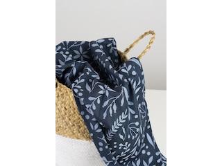 Limas Tragetuch - Flora Midnight Blue -