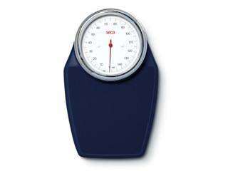 Seca Colorata 760 nachtblau, analoges Wiegen, belastbar bis zu 150 kg -