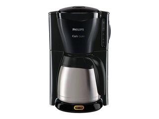 Philips HD7549/20 Gaia Therm Timer Kaffeeautomat mit Thermokanne edelstahl/schwarz -