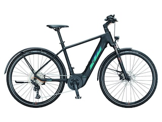 KTM Macina Cross LFC Schwarz Modell 2021 Trekkingbike (9008594445093) -