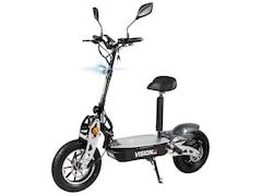 eFlux Vision X2 Elektroroller, 1500 W, E-Scooter mit Straßenzulassung, Schwarz
