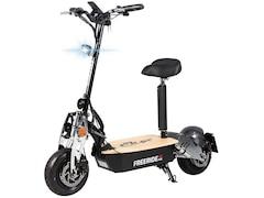 eFlux Freeride X2 Elektroroller, 2500 W, E-Scooter mit Straßenzulassung, Grau