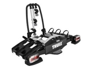 Thule 92701 VeloCompact Fahrradträger (3 Fahrräder, 7 Pin) - Kupplungsträger -